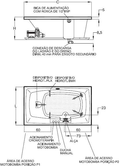 Medidas de jacuzzi piscina con jacuzzi y doble cascada for Jacuzzi exterior medidas